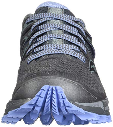 Saucony Women's Peregrine ISO Trail Running Shoe, Gunmetal, 5.5 M US by Saucony (Image #4)