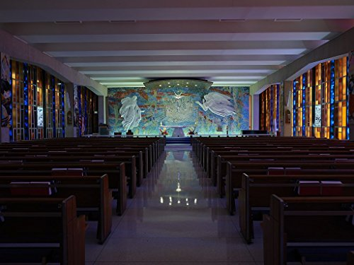 historic pictoric Photograph | The Catholic Chapel at the United States Air Force Academy Cadet Chapel in Colorado Springs| Fine Art Photo Reporduction 20in x 16in by historic pictoric