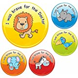 I was brave for the Doctor Safari Stickers