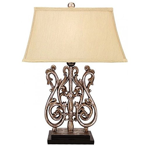 Acanthus Lamp (Acanthus Swirl Lamp 24 Inch by Mark Roberts 76-52108)
