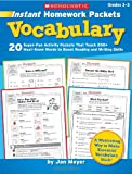 Vocabulary, Jan Meyer, 0545135753