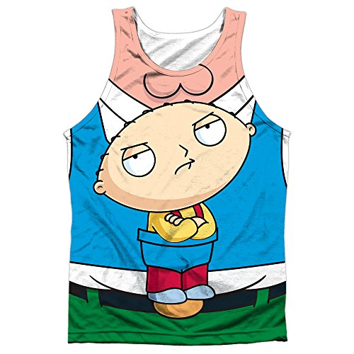 Tank Top: Family Guy- Stewie Carrier Costume Tee Size S