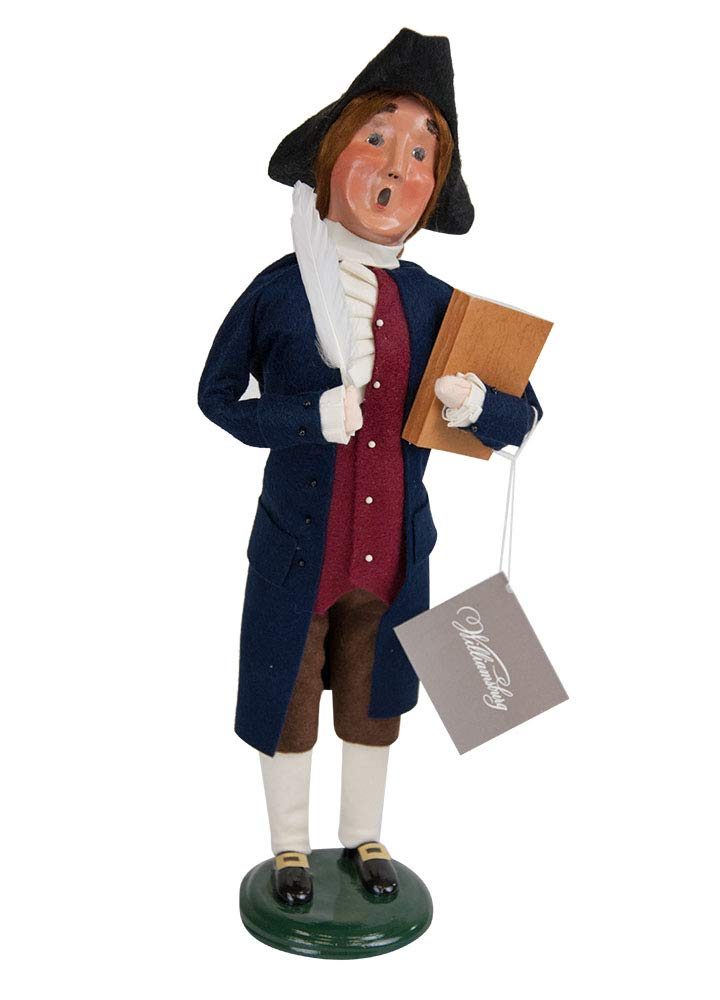 Byers' Choice Thomas Jefferson Caroler Figurine #ZWM13 from The Historical Collection