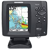 Humminbird 4084801  587Ci HD DI Combo DualBeam Fishfinder and GPS, Outdoor Stuffs