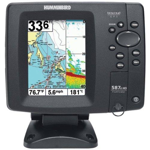 Humminbird 4084801  587Ci HD DI Combo DualBeam Fishfinder and GPS, Outdoor Stuffs