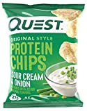 Quest Nutrition Protein Chips - Original Style - 30 Count (Sour Cream and Onion)