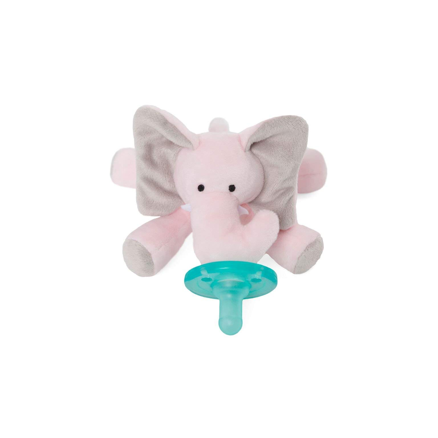 WubbaNub Infant Pacifier - Pink Elephant