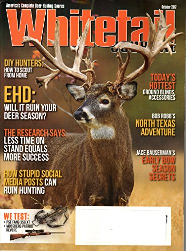 Whitetail Journal Magazine October 2017 | EHD ruining your deer season?