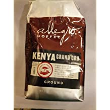 Allegro Coffee - Kenya Grand Cru, Ground Coffee, 12 oz, (Pack of 3)