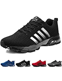 Men's Running Shoes Lightweight Breathable Air Cushion Sneakers Casual Athletic Walking Shoes for Men