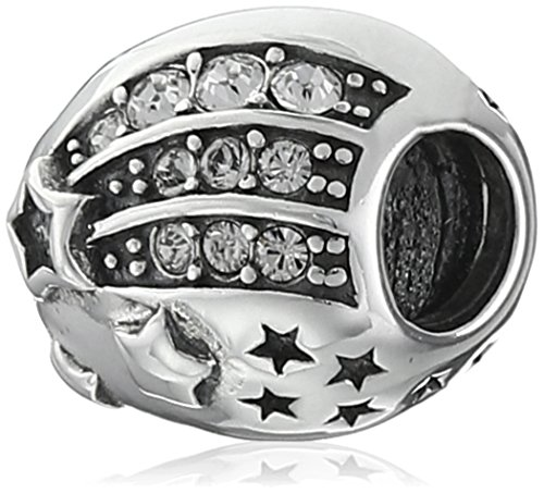 Chamilia Sterling Silver Reach For The Stars with Swarovski Crystal Bead (Chamilia Bead Jewelry)