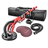 POWER PRO 2100 Electric Drywall Sander - 6 Speed, 710 Watts, Extendable, FREE Sanding Discs