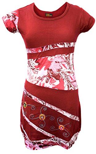 Kathmandu Little Rundhals Baumwolle Damen Kleid BYRRqaO4
