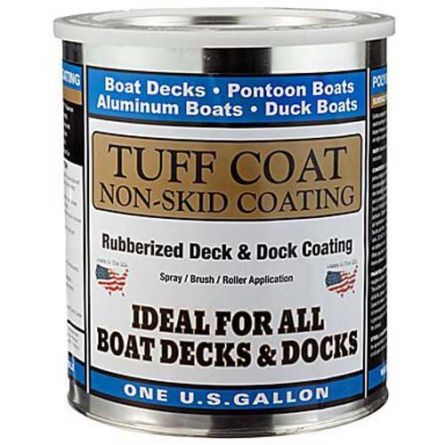 (TUFF Coat UT-100 Lt Grey, Gal,Tuff Coat 1 Gallon Lt Grey, Non-Skid Coating)