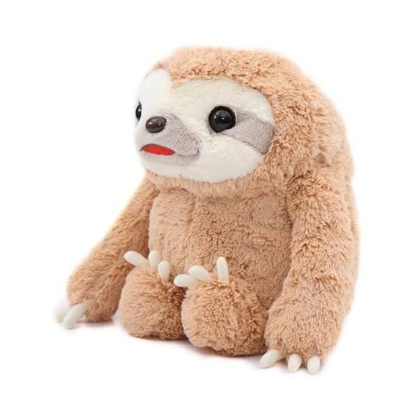 Big Brown Sloth Namakemono No Mikke Plush Toy Japan -