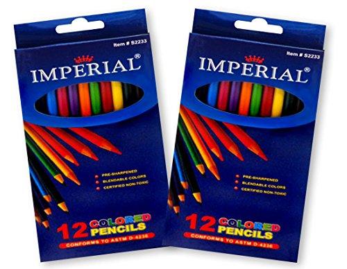 Imperial Coloring Pencil Friendly Non Toxic