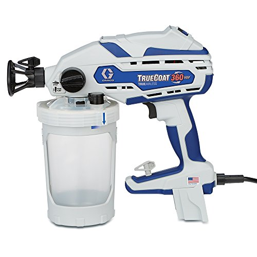 - Graco 17D889 TrueCoat 360 VSP Handheld Paint Sprayer