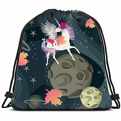 Unusual Little Raccoon Sitting The Arts Animal Drawstring Bag Backpack Gym Dance Bag Reversible Flip Sequin Bling Backpack For Hiking Beach Travel Bags