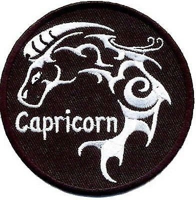 CAPRICORN ZODIAC STAR SIGN Embroidered Biker Astrology NEW Vest Patch PAT-0388 ()