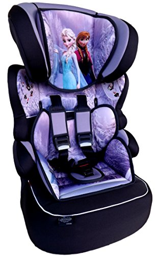 FROZEN Disney Beline Kindersitz KINDER AUTOSITZ BABY SITZ GRUPPE 1/2/3 9-36kg