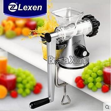 Asegure expendedora Suecia último manual Lexen pasto de trigo exprimidor / Healthy Juicer de la fruta de la máquina del envío libre: Amazon.es: Bricolaje y ...