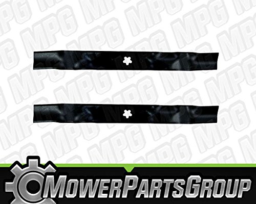 - MowerPartsGroup D464 (2) Heavy Duty Mulching Blades Fits AYP with 46