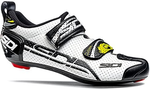 EU 41, Yellow Fluo//Black Sidi T-4 Air Carbon Triathlon Shoes