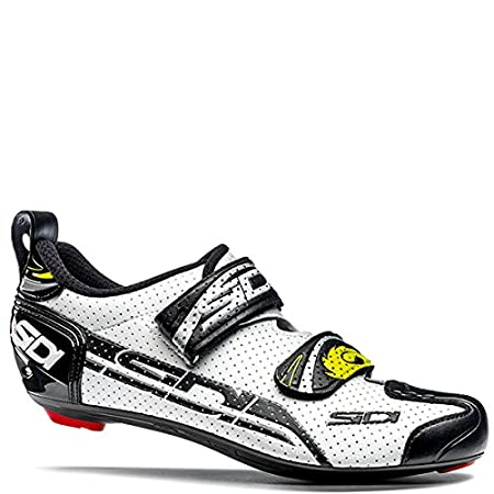 EU 38, Yellow Fluo//Black Sidi T-4 Air Carbon Triathlon Shoes
