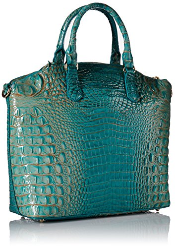 Large Satchel Turquoise Brahmin Duxbury Brahmin Large x4wSYFx