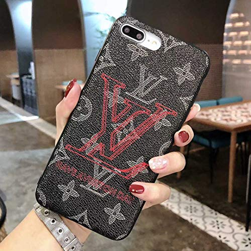Vintage Monogram iPhone 6s Case, iPhone 6 Case, Black Luxury TPU Case for iPhone 6s / iPhone 6 -US Fast Deliver