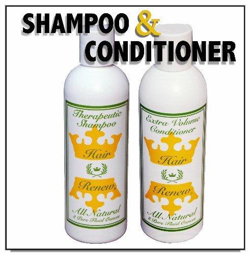 Женская восстановления роста волос System - Потеря волос Шампунь и Volumizing Conditioner