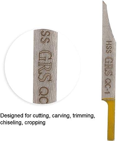 Greeflu Herramienta de Tallado #1 Herramienta de Corte de joyer/ía para la Marca de Modelo Mat Cutting Etching Talla Escultura Decapado