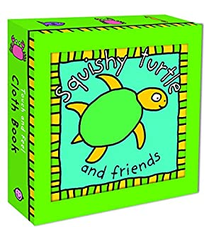 Squishy Turtle Cloth Book (Touch and Feel Cloth Books) (0312518900) | Amazon Products