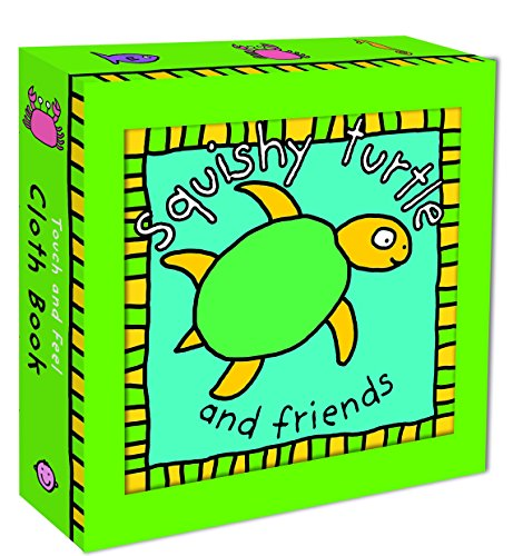 (Squishy Turtle Cloth Book (Touch and Feel Cloth)