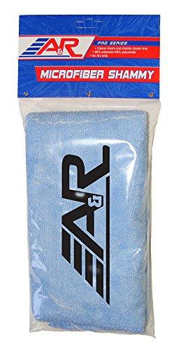 A&R Sports Microfiber Shammy Sky Blue Cloth for Sport Shields
