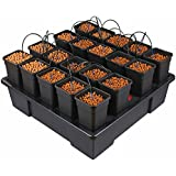 Wilma X-X-Large 20 x 6 Litre Pot Hydroponic Dripper System + Black Orchid Pro Timer by Wilma