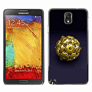 Planetar® ( Abstract Gold ) Fundas Cover Cubre Hard Case Cover Samsung Galaxy Note 3 III / N9000 / N9005