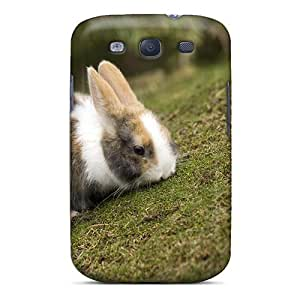 Flexible Tpu Back Case Cover For Galaxy S3 - Greatest Bunny