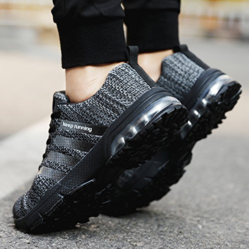 Air 36 Scarpe Cushion Pamray Scegli Rosso Passeggio 47 Su Nero Da Trainers Blu Uomo Maglia Sport Slim Sneakers Bianco Taglia Outdoor Nero Running Athletic Marrone 1 Donna modello Pls qz4vPq6r