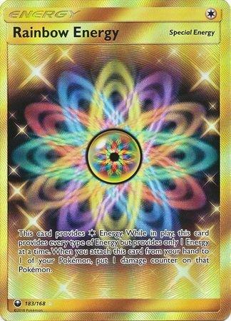 Image result for Rainbow Energy (Secret) - Celestial Storm 183/168