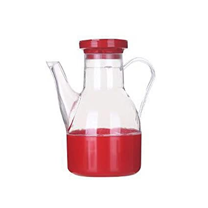 KINJOHI Bote de plástico Pequeño Salsa de soja Aceite para cocinar Vinagre Envase Botella Dispensador de