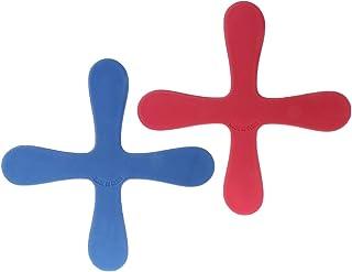 ZJL220 Croix Forme Boomerang Flying Toys en Plein Air Parc Soucoupe Drôle Jeu Enfants Sports