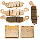 Front and Rear Sintered Brake Pads for Suzuki Katana GSX 600 F 1998-2006