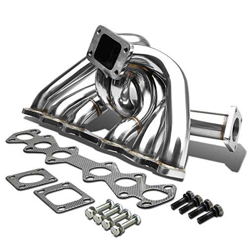 Toyota Supra Stainless Steel T3 Turbo Manifold w/44mm Wastegate Port - MK3 MarK III - Steel Manifold Port Stainless