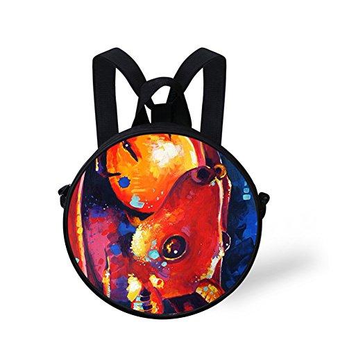 Nyec485i Bag Print Bag Round Animals Round Shoulder FancyPrint nwTFqt0RZ