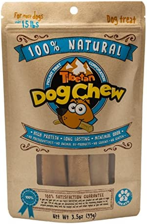 Tibetan Dog Chew 100 Natural Chew