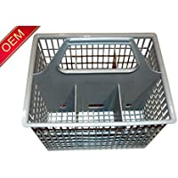 WD28X265 FACTORY OEM G.E. ORIGINAL SILVERWARE BASKET WITH HANDLE by General Electric