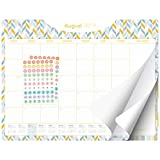 Desk Calendar 2019-2020 - Large Monthly Planner - 22'x17' Pages - Business, Office, Academic, Family or Teacher Desk/Wall Calendar Pad (Geometric)