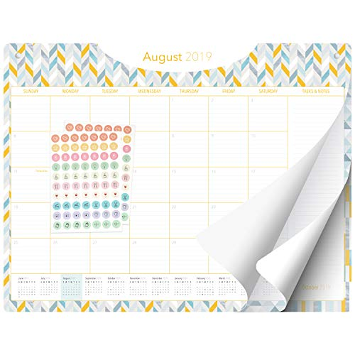 Desk Calendar 2019-2020 - Large Monthly Planner - 22
