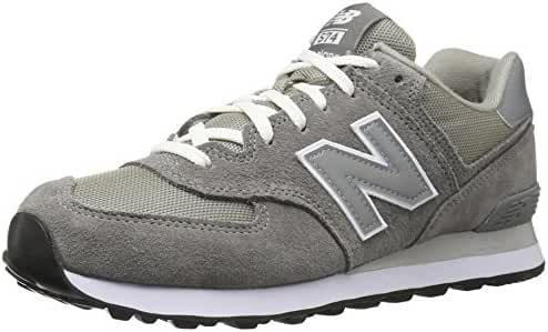 New Balance Men's ML574 Lifestyle Sneaker, Grey/Silver, 10 D US